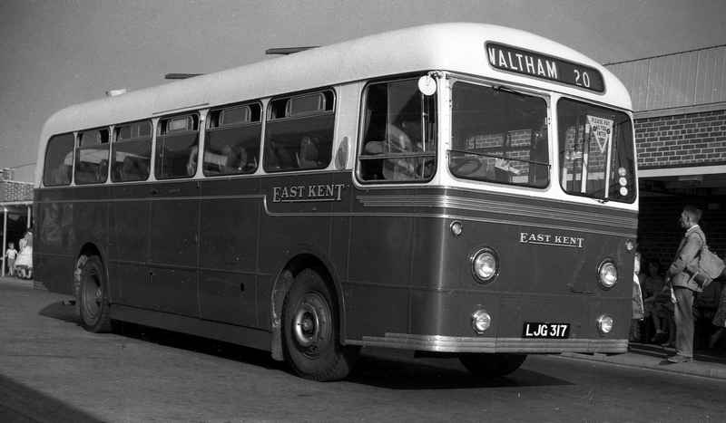 East Kent AEC Reliance with Weymann DP41F Body