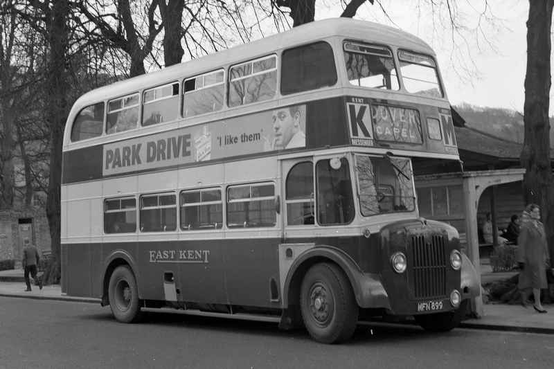 East Kent MFN899 a 1953 Guy Arab with a Park Royal H58R Body